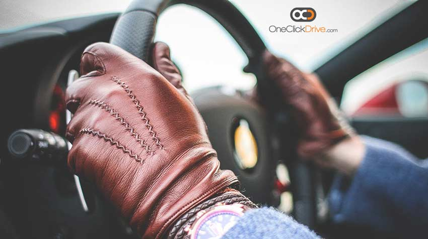 Car Steering Wheel Gloves 10-2 rule