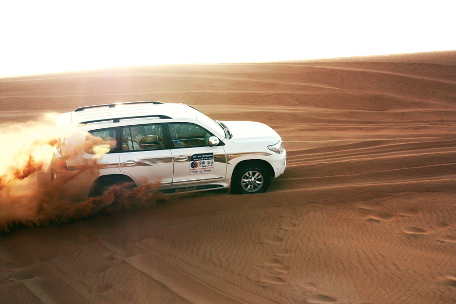 pajero dune bashing