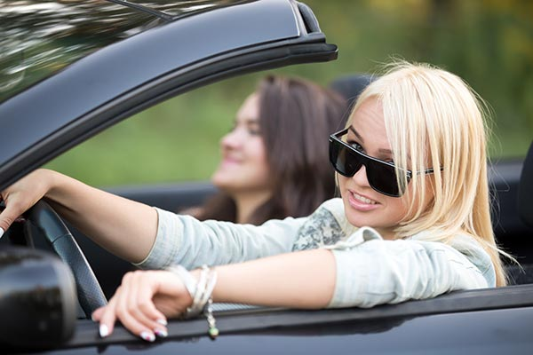girls rent a car dubai convertible
