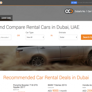 OneClickDrive makes it easier to rent a car in the UAE