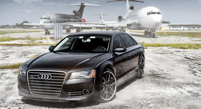 audi a8 from dubai airport