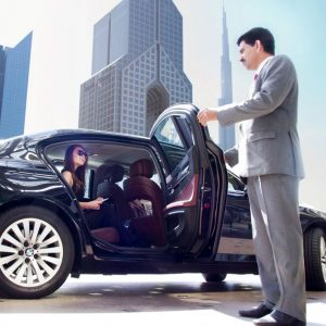 Need a car with driver in Dubai?