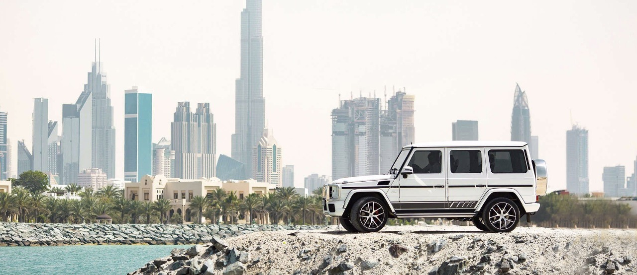 Mercedes G63 in Dubai