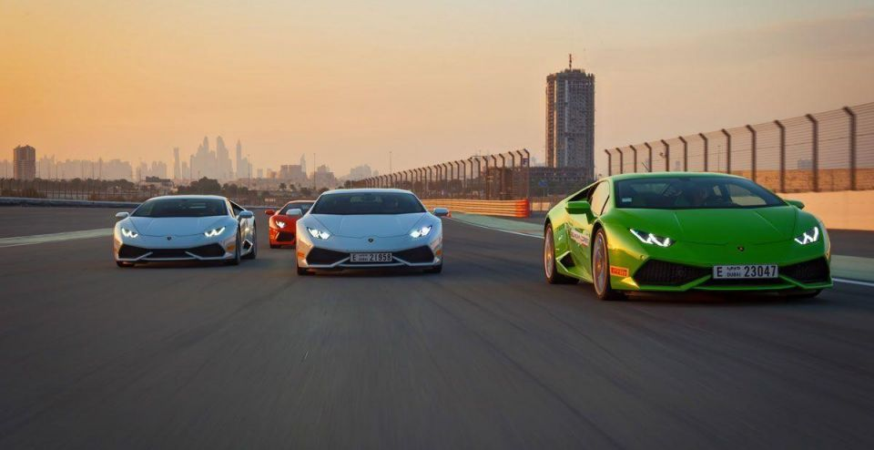 How much does it cost to rent a Lamborghini in Dubai?