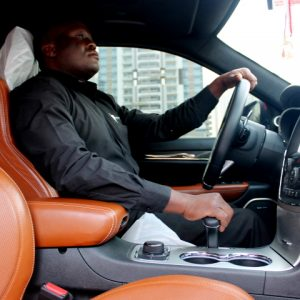 The Pleasure Of Being Driven Around In Dubai