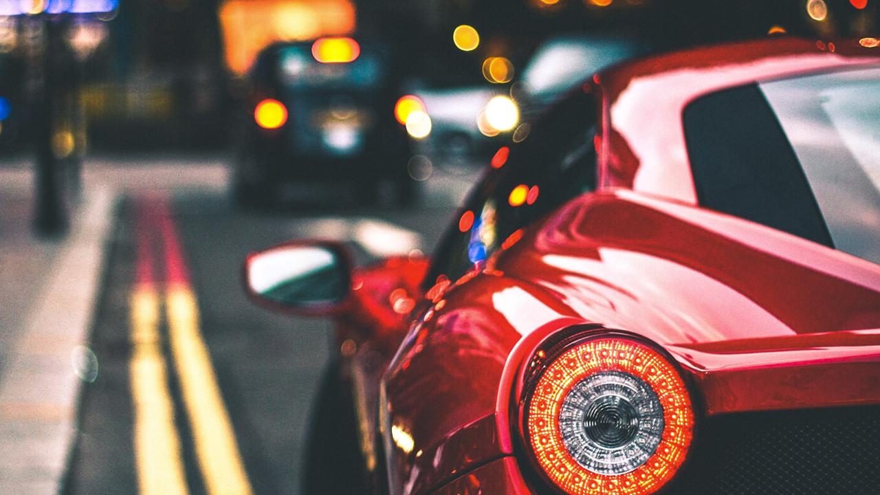 Ferrari - Back side