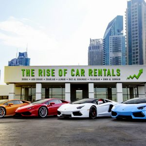The rise of car rentals in Dubai