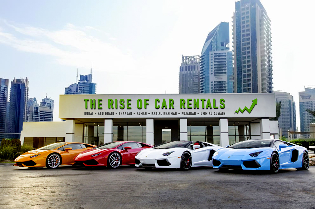 The rise of car rentals in Dubai