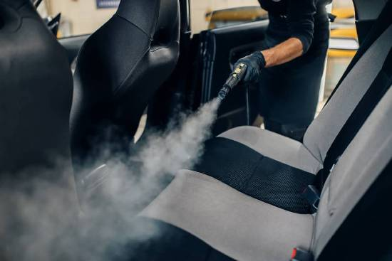 clean car disinfection