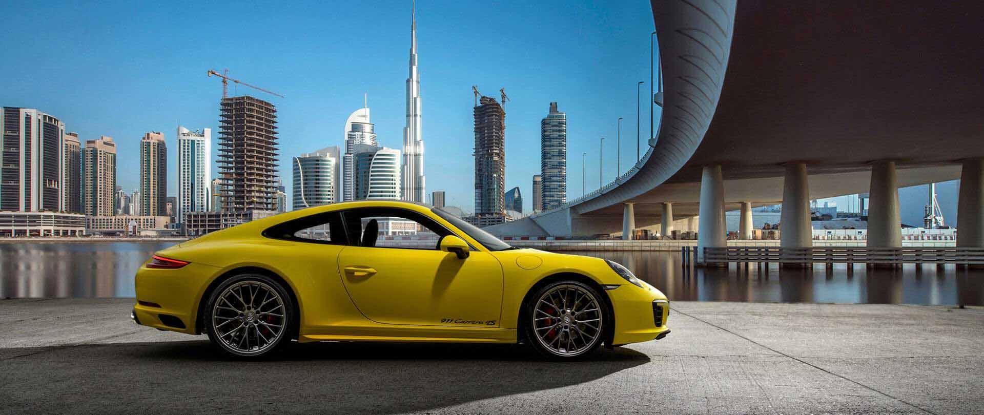 Rent an Exotic Car in Dubai