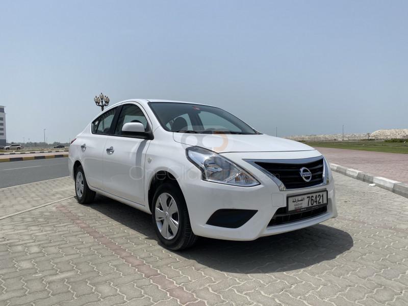 Nissan Sunny for Cheap Car Rentals in Dubai