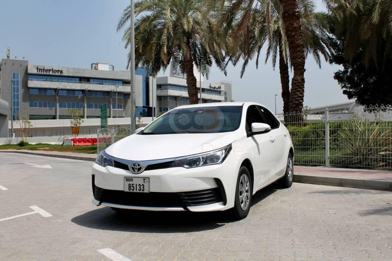 Toyota Corolla Cheap Car Rentals in Dubai